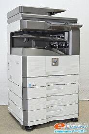 中古A3モノクロコピー機/中古A3モノクロ複合機SHARP/シャープ MX-M266FPカウンタ54837 コピー/FAX/プリンタ/スキャナ 両面印刷 モノクロ【中古】