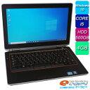 DELL Latitude E6320 Corei5 HDD500GB 4GBメモリ 13インチ DVDマルチ 無線LAN Bluetooth Office付き ノートパソコン 中古パソコン 訳あり