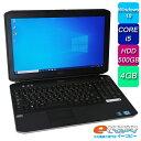 DELL Latitude E5530 Corei5 HDD500GB 4GBメモリ 15.6インチ フルHD DVD-ROM 無線LAN テンキー Office付き Windows10 ノートパソコン …