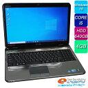 DELL Inspiron N5010 Corei5 HDD640GB 4GBメモリ 15.6インチ DVDマルチ 無線LAN Webカメラ テンキー Office付き Windows10 ノートパソ…