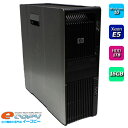 HP WorkStation Z600 XeonE5 4コア HDD1TB 16GBメモリ DVDマルチ Office付き Windows10 中古パソコン デスクトップパソコン 空冷モデル…