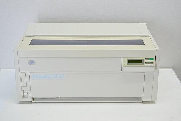 正常動作品中古ドットプリンター IBM 5577-c02インクリボン無し 防音カバーつき USB LAN パラレル【中古】