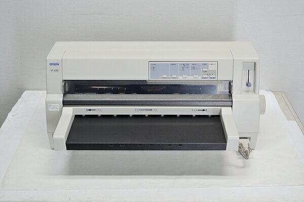 フィーダー付 中古ドットプリンター/水平型EPSON/エプソン IMPACT-PRINTER VP-4300パラレル/USB/LAN 【中古】