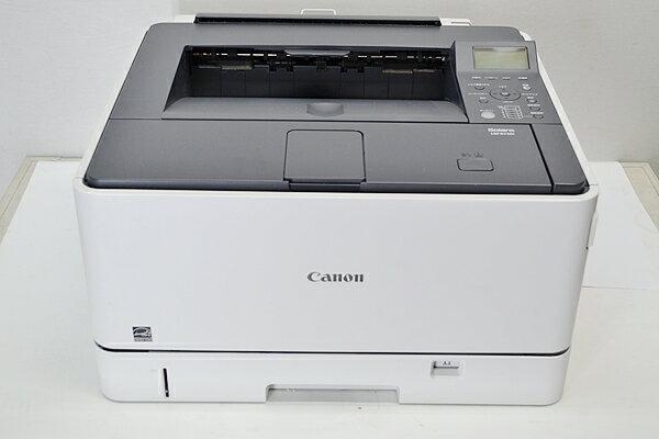 カウンタ12674 新品リサイクルトナー付中古A3プリンターCanon/キャノン Satera LBP8730i【中古】USB/LAN 両面印刷
