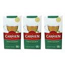 3箱セット CARMIEN グリーンルイボスティー ルイボス茶 60パック 150g  オーガニック