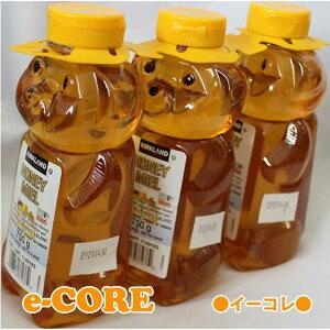 クマさんの容器に入ったカナディアンハニーはちみつ 750g x 3本 蜂蜜 カナダ産ハチミツ カークランド 《》【RCP】