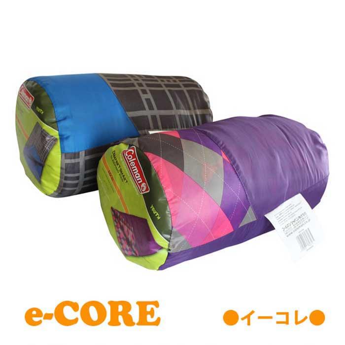 Coleman コールマンキッズ用寝袋 子供用シュラフ ブルー/パープル 152.4×66cm 《》【RCP】