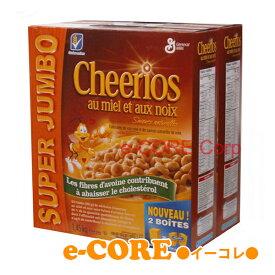 Honey Nut Cheerios ハニーナッツチェリオ 1.45kg(725gx2パック) 《》【RCP】