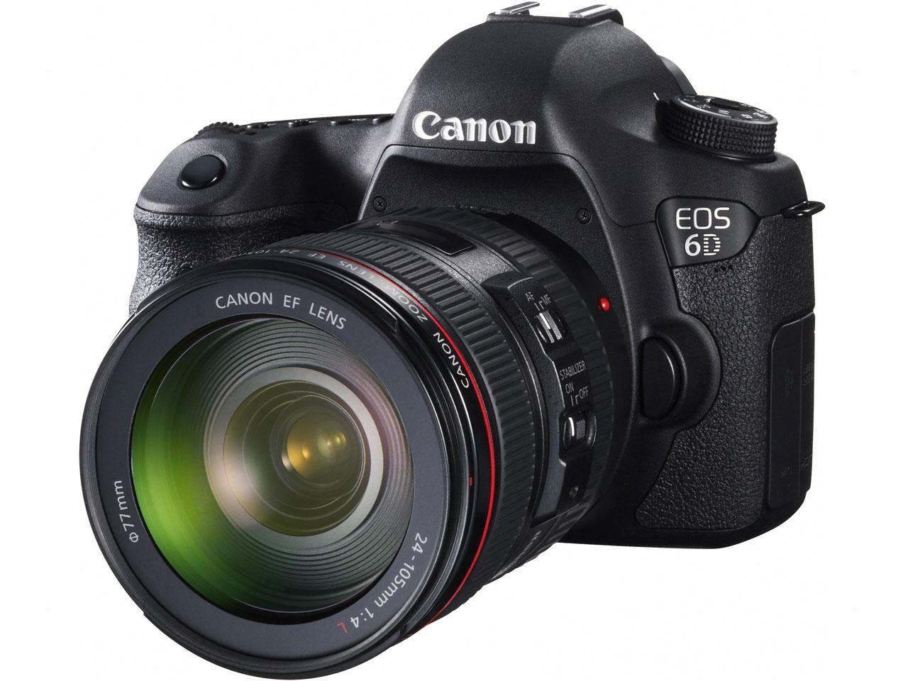 CANON / キヤノン デジタル一眼レフカメラ EOS 6D EF24-70L IS USM レンズキット 【デジタル一眼カメラ】【送料無料】