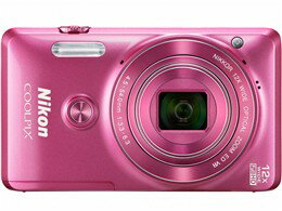 Nikon / ニコン コンパクトデジタルカメラ COOLPIX S6900 [グロッシーピンク] 【デジタルカメラ】【送料無料】