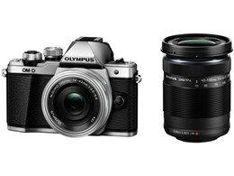 OLYMPUS / オリンパス OM-D E-M10 Mark II EZダブルズームキット [シルバー] 【デジタル一眼カメラ】【送料無料】