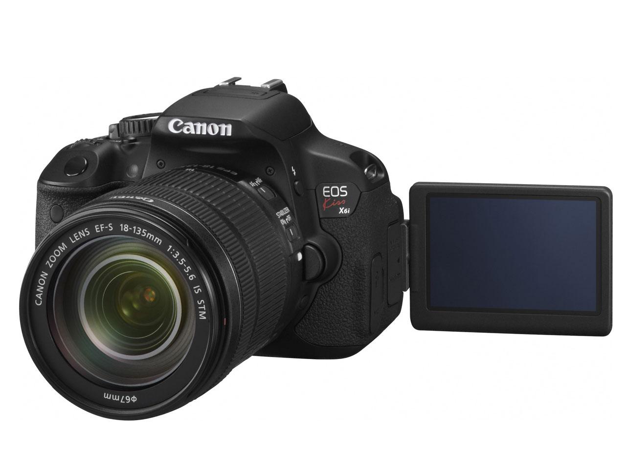【アウトレット 展示品】Canon / キヤノン デジタル一眼レフカメラ EOS Kiss X6i EF-S18-135 IS STM レンズキット
