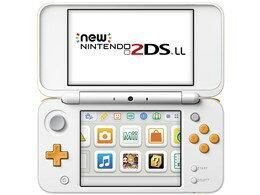 Nintendo/任天堂Newニンテンドー2DSLL[ホワイト×オレンジ]【ゲーム機】【送料無料】