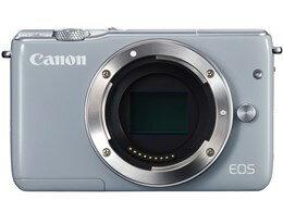 キヤノン / CANON EOS M10 ボディ [グレー] 【デジタル一眼カメラ】【送料無料】