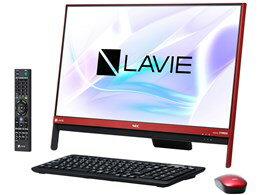 ★NEC LAVIE Desk All-in-one DA370/HAR PC-DA370HAR [ラズベリーレッド] 【デスクトップパソコン】【送料無料】