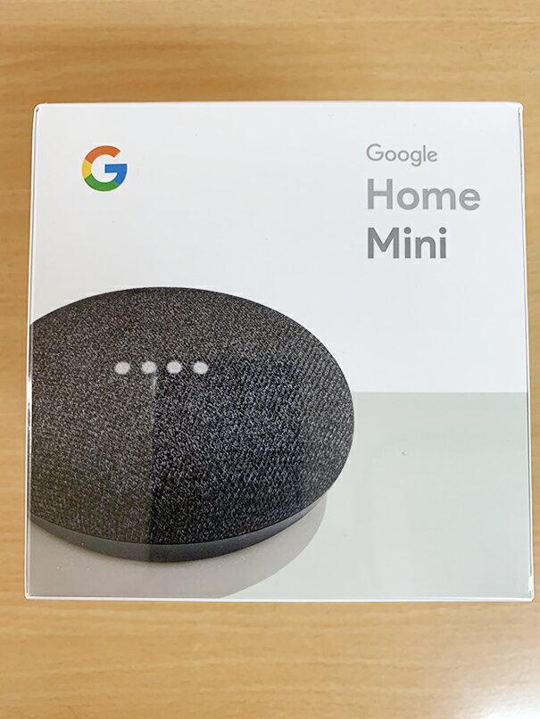 Google Google Home Mini [チャコール] 【Bluetoothスピーカー】【送料無料】