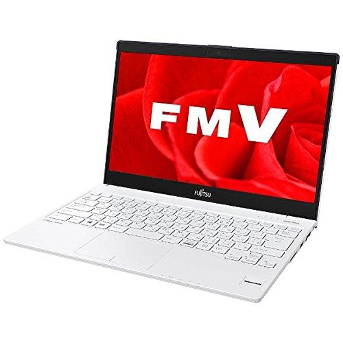 ★☆ 富士通 13.3型ノートPC [Office付き・Win10 Home・Core i3] LIFEBOOK UH55/B3 ホワイト with ネイビー FMVU55B3LB