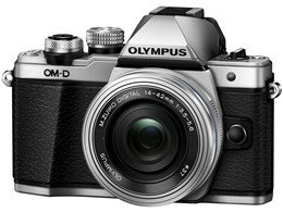 ●OLYMPUS / オリンパス OM-D E-M10 Mark II 14-42mm EZレンズキット [シルバー] 【デジタル一眼カメラ】【送料無料】