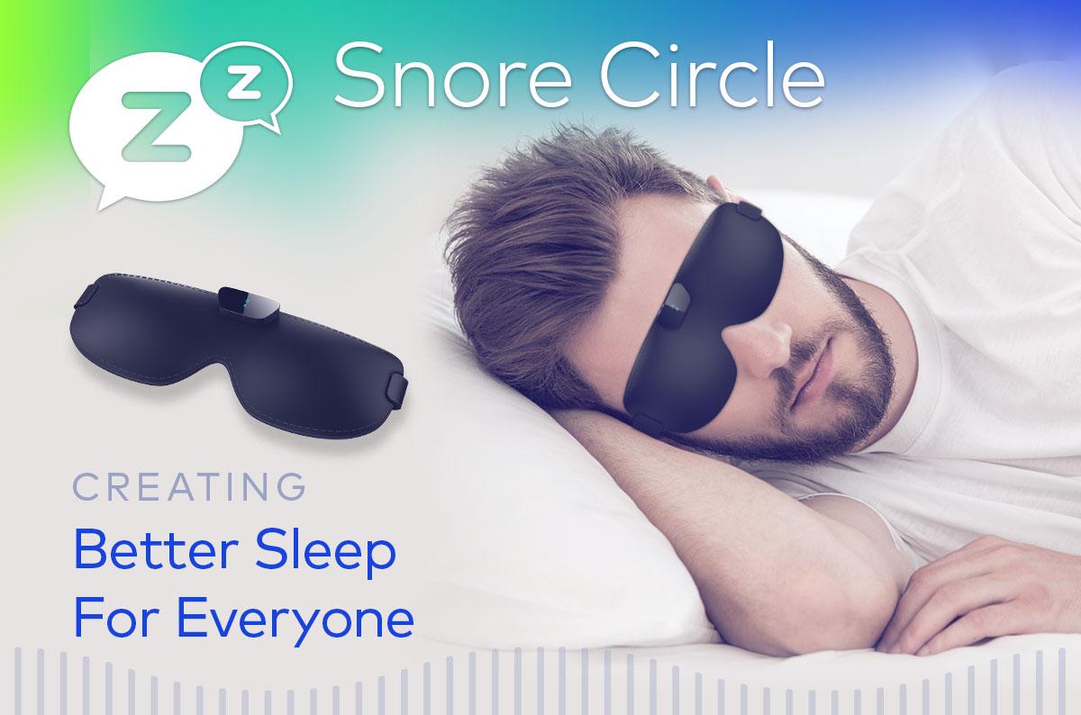 ★◇スノアサークル スマートアイマスク いびき軽減スマートアイマスク