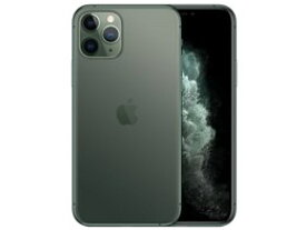 ★アップル / APPLE iPhone 11 Pro 64GB SIMフリー [ミッドナイトグリーン] (SIMフリー) [MWC62J/A] 【スマートフォン】【送料無料】