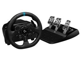 ★ロジクール ハンドルコントローラー G923 Racing Wheel & Pedal G923 [ブラック] 【ゲーム周辺機器】【送料無料】