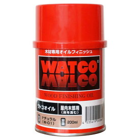 ワトコオイル ナチュラル W-01 200ml