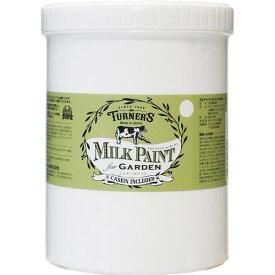 ターナー色彩 ミルクペイント for ガーデン ミルキーホワイト MKG12301 1.2L