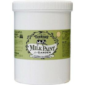 ターナー色彩 ミルクペイント for ガーデン バタークリーム MKG12312 1.2L