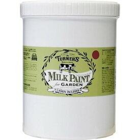 ターナー色彩 ミルクペイント for ガーデン クランベリーレッド MKG12334 1.2L
