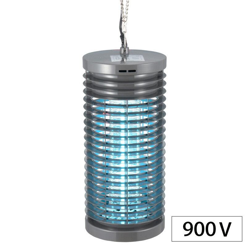 オーム電機 OBK-04S(B)電撃殺虫器 900Vタイプ [品番]07-4748OBK04SB