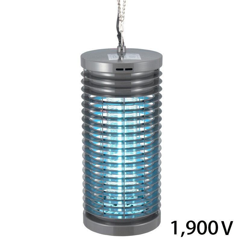 オーム電機 OBK-06S(B)電撃殺虫器 1900Vタイプ [品番]07-4749OBK06SB