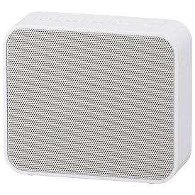 オーム電機 ASP-W460N-W AudioComm ワイヤレス充電・スピーカー ホワイト [品番]03-3189