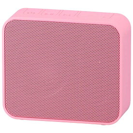 オーム電機 ASP-W460N-P AudioComm ワイヤレス充電・スピーカー ピンク [品番]03-3191