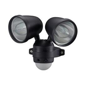 オーム電機 ES752ハロゲンセンサーライト 75W×2灯 [品番]07-5576ES752