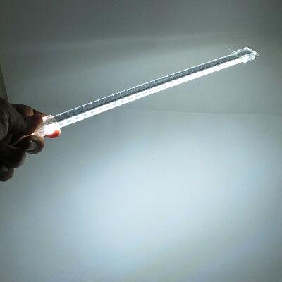 【新品】ルートアールLEDライトバー昼光色タイプUSB接続スイッチ付きケーブル長さ約150cm本体長35cm両面テープ&マグネット付きデスクライト車内灯簡易照明としてRL-BAR30D【軽量省エネ】