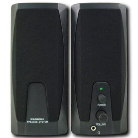 【アウトレット】 ステレオスピーカー アクティブスピーカー USB給電 3.5mmステレオミニプラグ 入力 0.5W出力 x 2