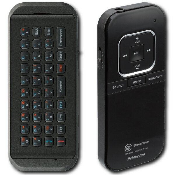 【メール便可】 プリンストン Bluetooth対応 iPhone iPad 用 ミニキーボード & レシーバー iBow mobile ブラック PTM-BHKIB Princeton