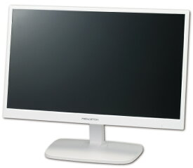 【アウトレット】 PTFWDE-22W プリンストン 22型 22インチ フルHD ワイド液晶モニター 液晶ディスプレイ ノングレア 非光沢 広視野角パネル採用 HDCP対応 DVI VGA HDMI入力 21.5型 21.5インチ ホワイト