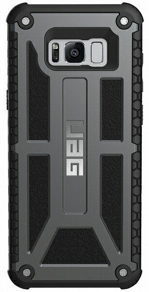 【アウトレット】【メール便可】UAG-GLXS8PLS-P-GRUGalaxyS8+用Monarchケース国内正規代理店URBANARMORGEARアーバンアーマーギア