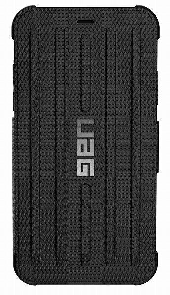 【アウトレット】【メール便可】UAG-IPH18SF-BKUAGiPhoneXR用Metropolisケース国内正規代理店品URBANARMORGEARアーバンアーマーギア
