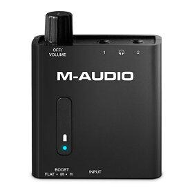 ポータブルヘッドホンアンプ M-Audio(エムオーディオ) Bass Traveler 【1年保証】 【送料無料】