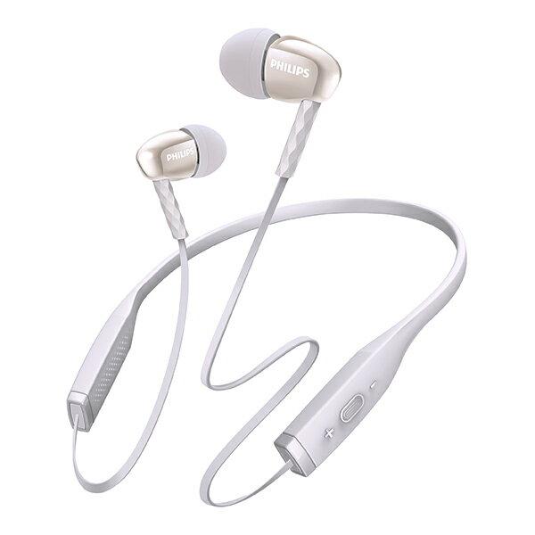 Bluetooth ブルートゥースイヤホン PHILIPS フィリップス SHB5950WT(ホワイト)