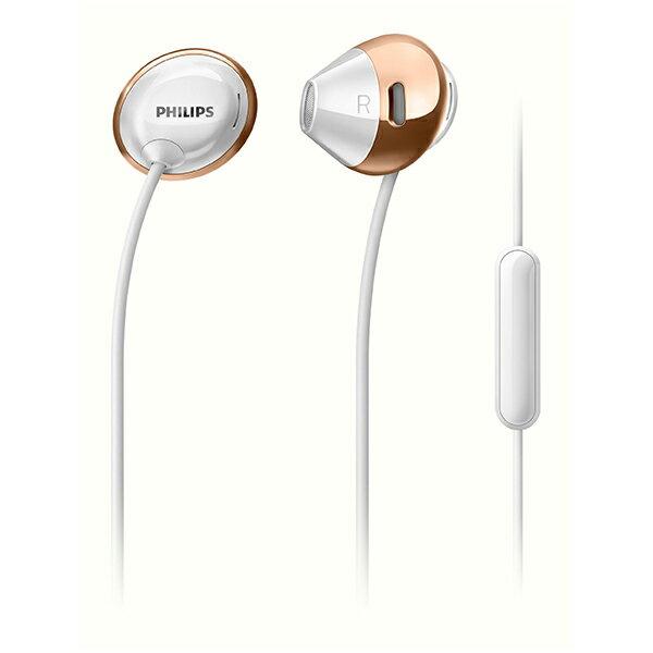 PHILIPS(フィリップス) SHE4205 WT(ホワイト)スマートフォン用マイク付き イヤホン イヤフォン
