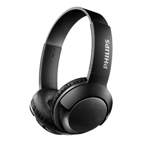 PHILIPS フィリップス SHB3075BK ブラック Bluetooth ブルートゥース ワイヤレス ヘッドホン ヘッドフォン 【1年保証】 【送料無料】