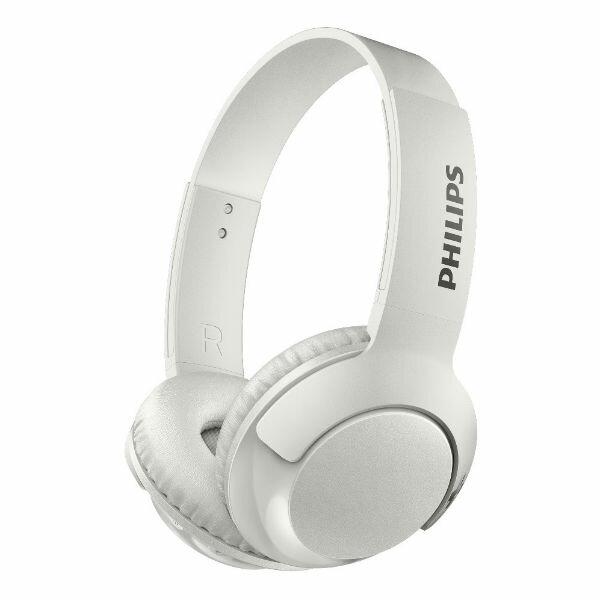 PHILIPS フィリップス SHB3075WT ホワイト Bluetooth ブルートゥース ワイヤレス ヘッドホン ヘッドフォン 【1年保証】 【送料無料】