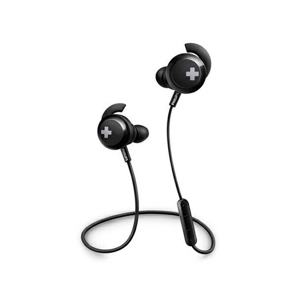 PHILIPS フィリップス SHB4305BK ブラック Bluetooth ブルートゥース ワイヤレス イヤホン