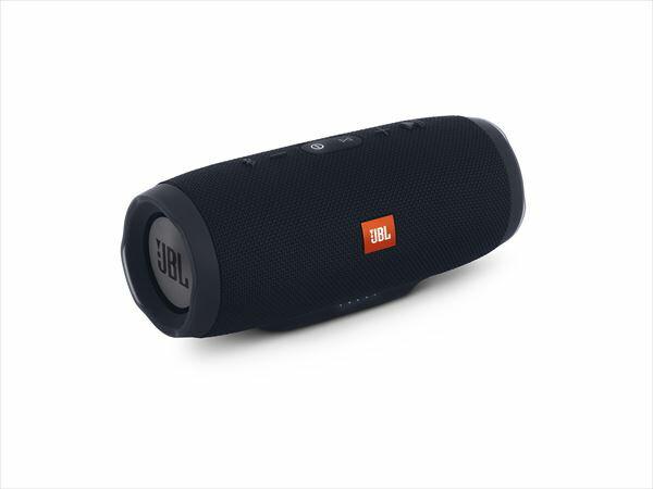 防水 ワイヤレス スピーカー Bluetooth スピーカー JBL CHARGE3 ブラック 【JBLCHARGE3BLKJN】 【送料無料】 重低音 大音量 野外 ブルートゥース スマートフォン スピーカー 【1年保証】