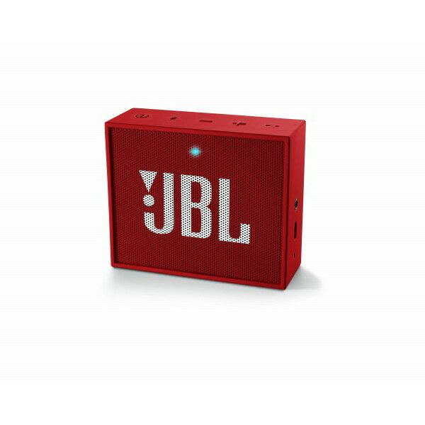 小型 Bluetooth ブルートゥース ワイヤレス スピーカー JBL GO レッド