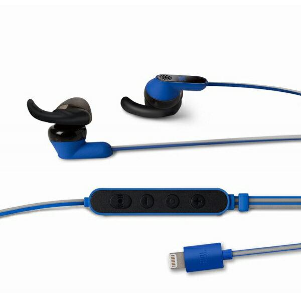【スポーツ向け/iPhone7向け】JBL REFLECT AWARE ブルー 【JBLAWAREBLUI】【送料無料】Lightningコネクタ専用イヤホン イヤフォン
