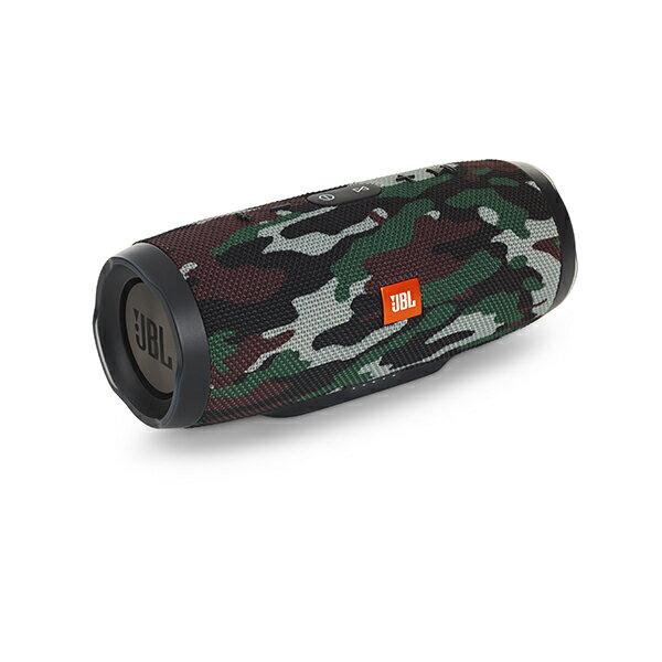 防水 ワイヤレス スピーカー Bluetooth スピーカー JBL CHARGE3 迷彩 【JBLCHARGE3BLKJN】 【送料無料】 重低音 大音量 野外 ブルートゥース スマートフォン スピーカー 【1年保証】